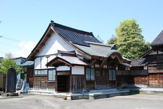 恩光寺 昔、そろばん塾の建物